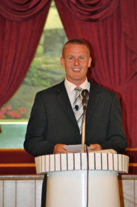 Bro. Anthony Curley (member of Grace Baptist Church in Warrenton, GA) preaching for us Wednesday morning.